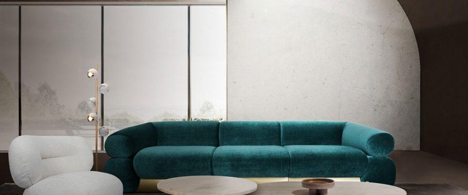 Sofas lujuosos: Ideas para una Sala de estar poderosa y elegante