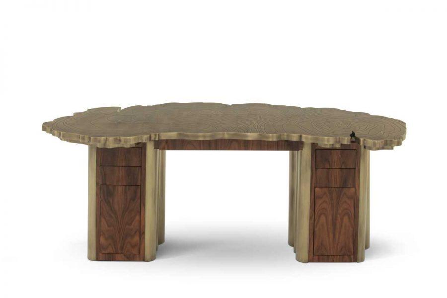 mesas de oficina Mesas de Oficina lujuosas: Ideas para un proyecto Moderno fortuna desk boca do lobo 02 900x600 1