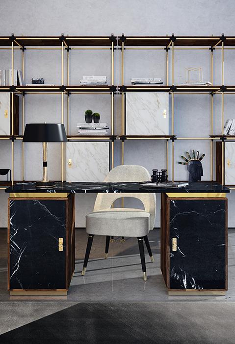 Mesas de Oficina lujuosas: Ideas para un proyecto Moderno mesas de oficina Mesas de Oficina lujuosas: Ideas para un proyecto Moderno lasdun desk 1