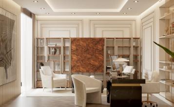 Oficina lujuosa del Ático Moderno y Contempóraneo de Millones oficina lujuosa Oficina lujuosa del Ático Moderno y Contempóraneo de Millones 1 2 357x220