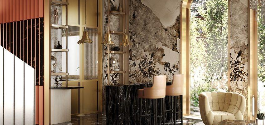 Casa lujuosa en Hong-Kong: Sala de estar y comedor poderosas del Ático