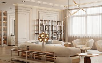 Sala de estar elegante del Atíco Moderno y Contemporáneo de Millones sala de estar elegante Sala de estar elegante del Atíco Moderno y Contemporáneo de Millones 3 4 357x220