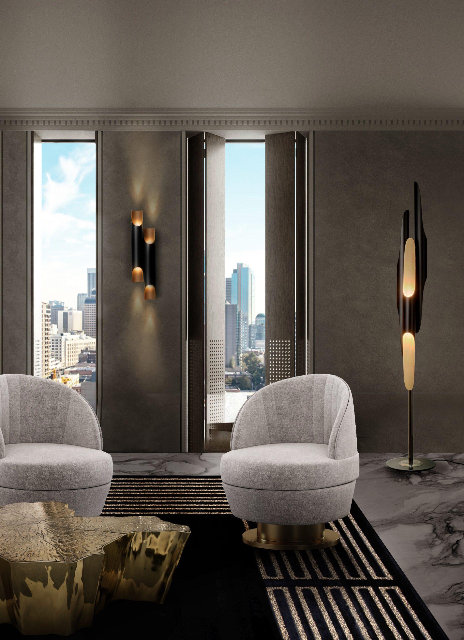 Sala de estar poderosa: Seleción de proyectos lujuosos para inspirar sala de estar poderosa Sala de estar poderosa: Seleción de proyectos lujuosos para inspirar CH Essex armchair eden center 2 scaled