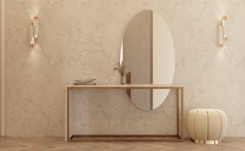 Entrada lujuosa del Ático Moderno y Contemporanéo de Millones baño poderoso Baño poderoso del Ático Moderno y Contemporáneo de Millones Corredor 01 357x220