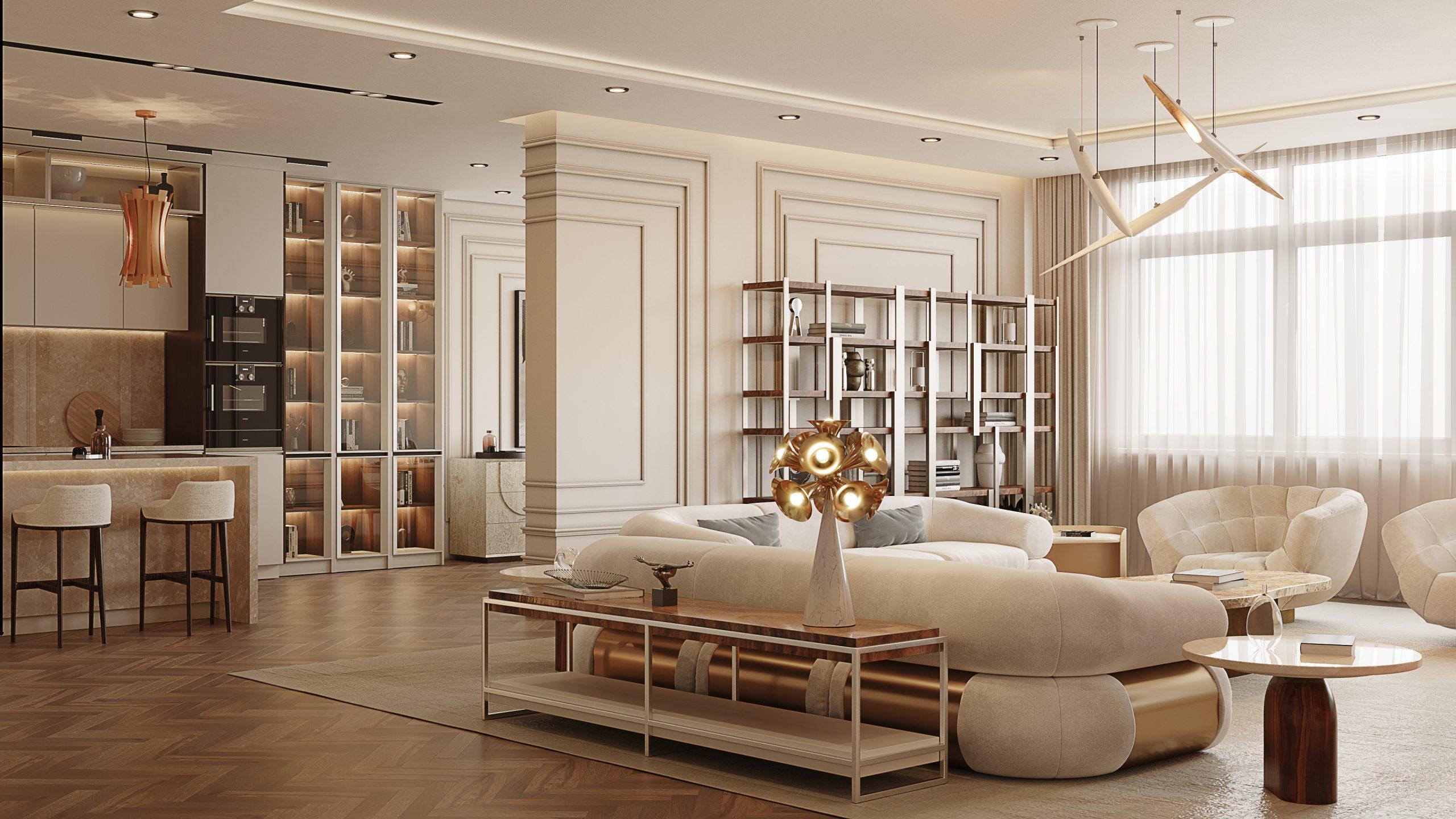 Sala de estar poderosa: Seleción de proyectos lujuosos para inspirar sala de estar poderosa Sala de estar poderosa: Seleción de proyectos lujuosos para inspirar Living Room Geral 2 scaled