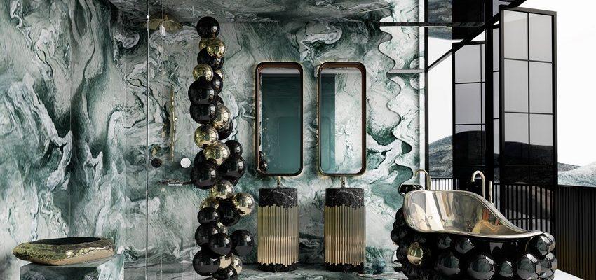 Casa lujuosa en Hong-Kong: Baño poderoso y exclusivo