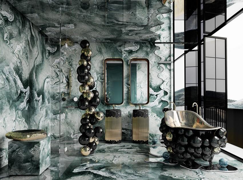 Casa lujuosa en Hong-Long: Baño poderoso y exclusivo