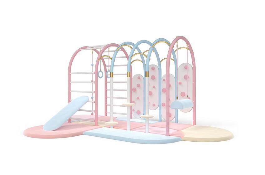 Casa Lujuosa en Hong-Kong: Dormitório para Niños mágico casa lujuosa Casa Lujuosa en Hong-Kong: Dormitório para Niños mágico bubble gum gym circu magical furniture 1 1