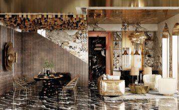 Casa lujuosa en Hong-Kong: Ático de Millones Ecléctica y moderno casa lujuosa Casa lujuosa en Hong-Kong: Sala de estar y comedor poderosas del Ático z6ntpaug 357x220