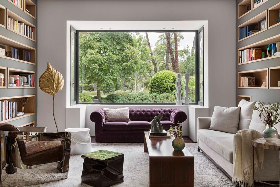 ines benavides Ines Benavides: Una lujuosa Diseñadora de interiores en Madrid 1 room with a view