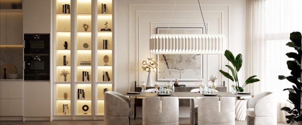 Ático lujuoso: Una casa poderosa con un estilo de medio de siglo