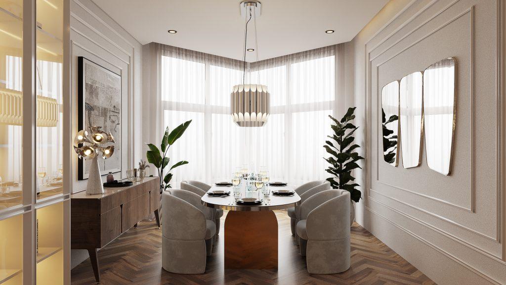 Ático lujuoso: Una casa poderosa con un estilo de medio de siglo Ático lujuoso Ático lujuoso: Una casa poderosa con un estilo de medio de siglo Home Tour A Modern House in New York That Will Make Your Eyes Light Up 2