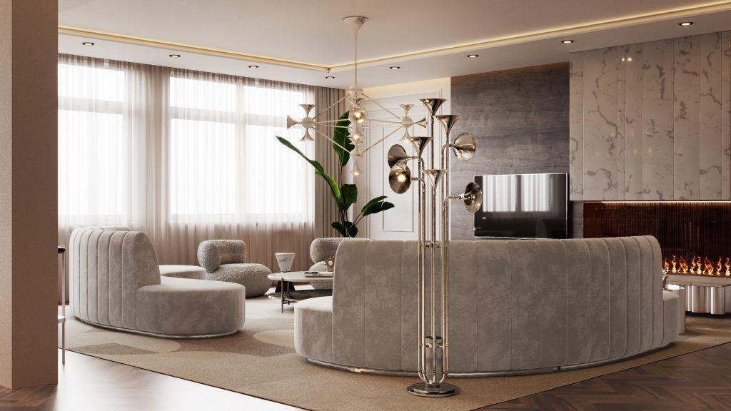 Ático lujuoso: Una casa poderosa con un estilo de medio de siglo Ático lujuoso Ático lujuoso: Una casa poderosa con un estilo de medio de siglo Home Tour A Modern House in New York That Will Make Your Eyes Light Up 4