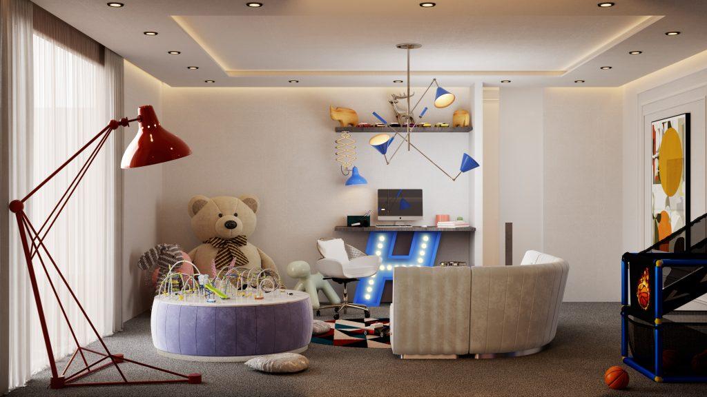 Ático lujuoso: Una casa poderosa con un estilo de medio de siglo Ático lujuoso Ático lujuoso: Una casa poderosa con un estilo de medio de siglo Home Tour A Modern House in New York That Will Make Your Eyes Light Up 9