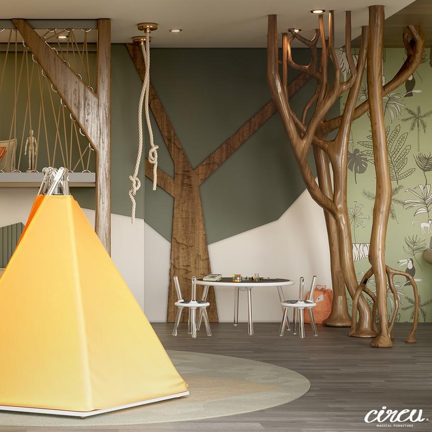 Proyecto lujuoso inspirado en la Naturaleza: Una Habitación para Niños excluiva proyecto lujuoso Proyecto lujuoso inspirado en la Naturaleza: Una Habitación para Niños exclusiva Kids Bedroom Projects A Jungle Inspired bedroom Youll Love 2