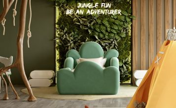 Dormitorio lujuoso: Ideas para niños para inspiración exclusivas dormitorio lujuoso Dormitorio lujuoso: Ideas para niños para inspiración exclusivas Kids Bedroom Projects A Jungle Inspired bedroom Youll Love 9 357x220