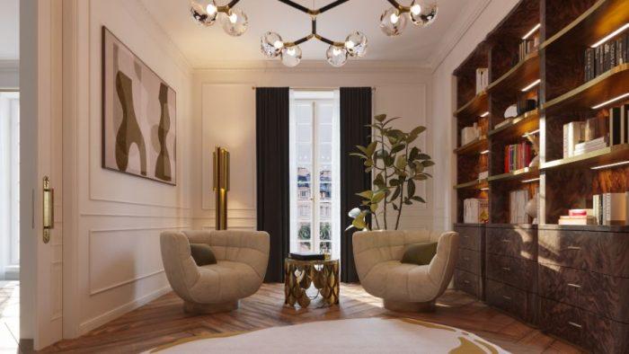 Casa lujuosa en Paris: Mezcla un diseño clásico y contemporáneo casa lujuosa Casa lujuosa en Paris: Mezcla un diseño clásico y contemporáneo The Eternel Parisian Apartment Mixing Classic and Contemporary Design 7