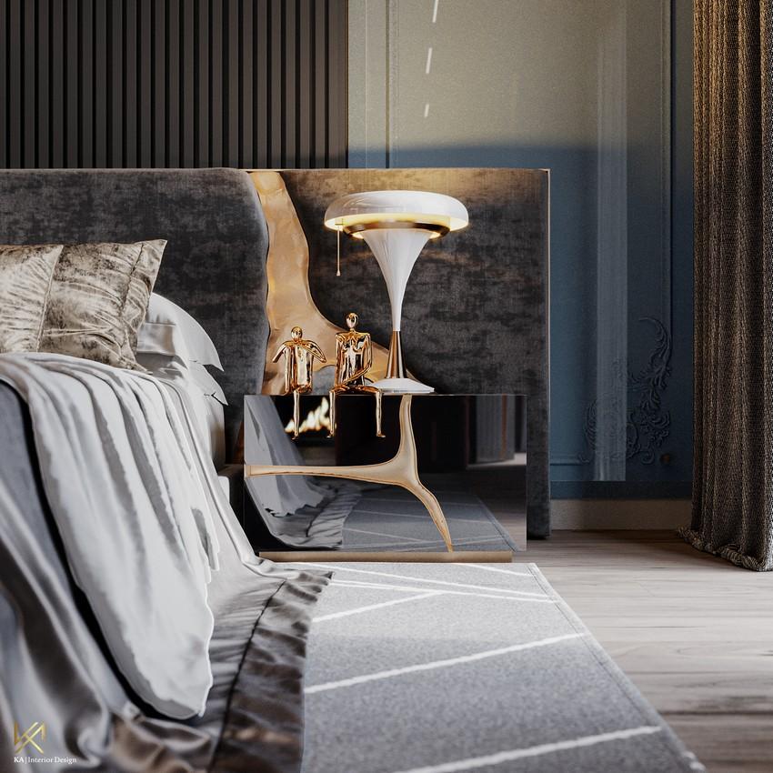 Interiores Lujuosos: Un Ático clásico y moderno Diseñado por K.A. Interior Design