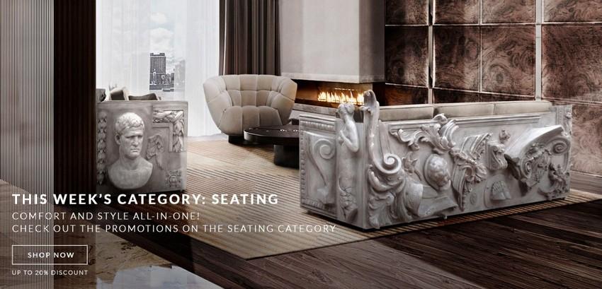 Muebles poderosos: descuentos especiales esta semana en piezas de Asientos