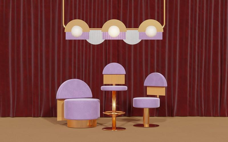 Diseño de Muebles: Masquespacio x Essential Home - La nueva colección diseño de muebles Diseño de Muebles: Masquespacio x Essential Home – La nueva colección franjas