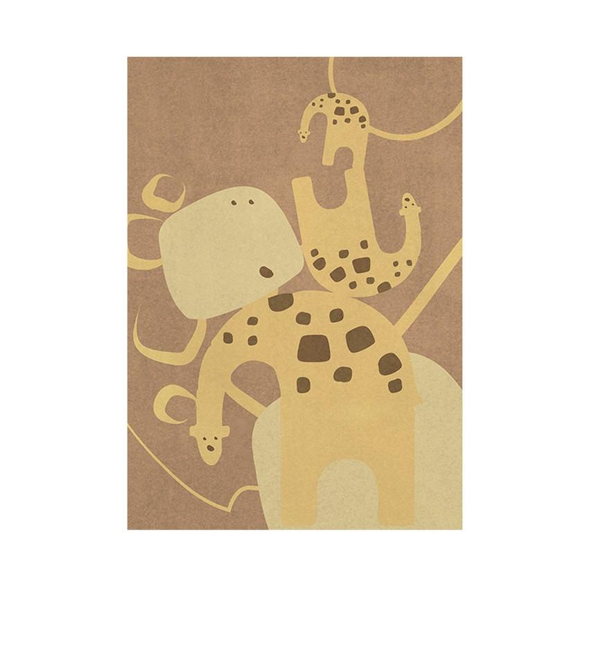 Diseño para Niños: Nuevas Alfombras poderosas de Circu diseño para niños Diseño para Niños: Nuevas Alfombras poderosas de Circu giraffe jungle rug circu magical furniture 1