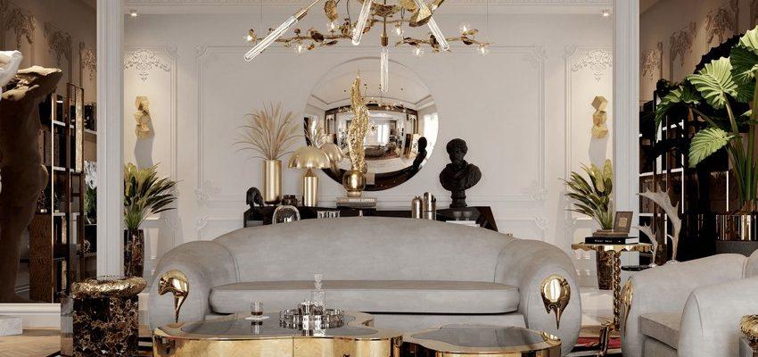 Diseño de Iluminación: Ideas de estilos de interiores lujuosos