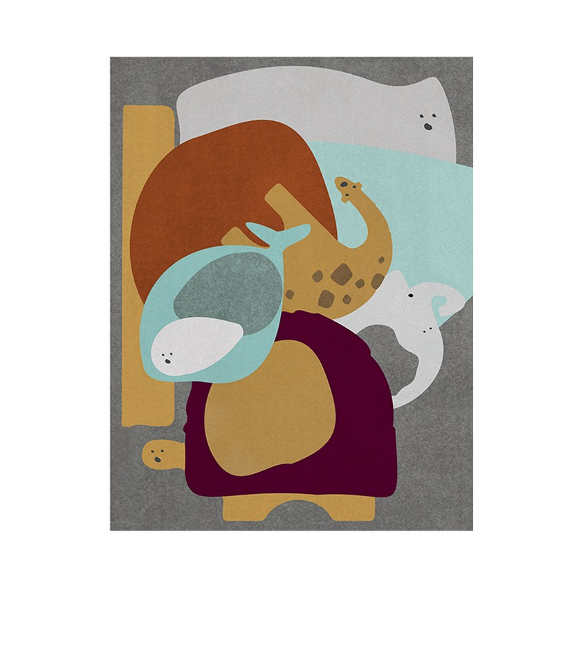 Diseño para Niños: Nuevas Alfombras poderosas de Circu diseño para niños Diseño para Niños: Nuevas Alfombras poderosas de Circu party animal rug circu magical furniture 1