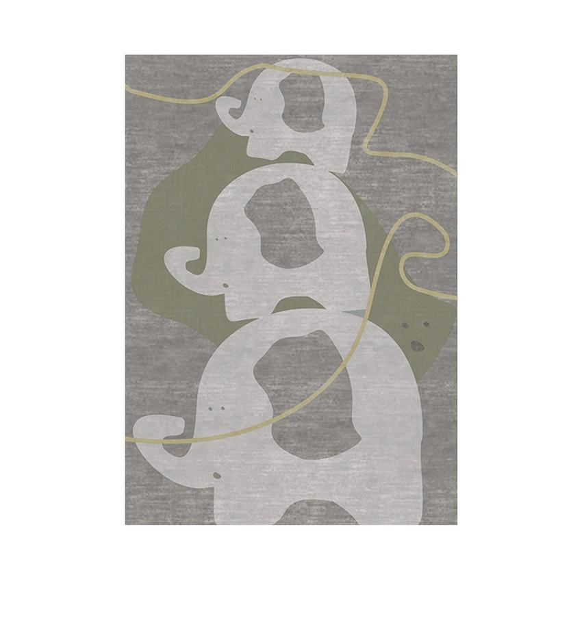 Diseño para Niños: Nuevas Alfombras poderosas de Circu diseño para niños Diseño para Niños: Nuevas Alfombras poderosas de Circu the power elephant rug circu magical furniture 1
