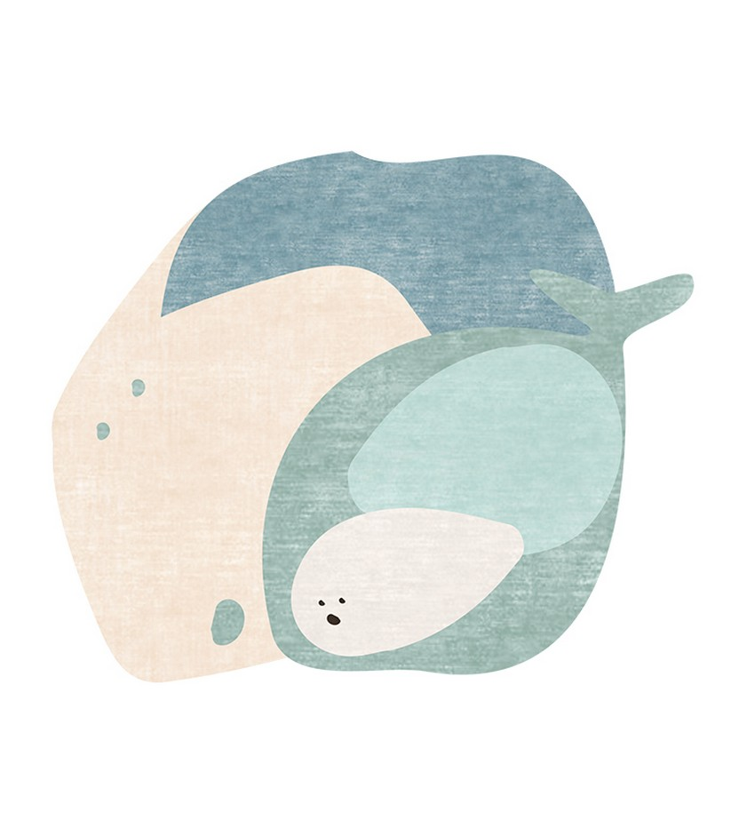 Diseño para Niños: Nuevas Alfombras poderosas de Circu diseño para niños Diseño para Niños: Nuevas Alfombras poderosas de Circu the whales tale rug circu magical furniture 1