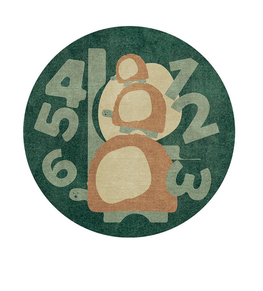 Diseño para Niños: Nuevas Alfombras poderosas de Circu diseño para niños Diseño para Niños: Nuevas Alfombras poderosas de Circu threes a crowd rug circu magical furniture 1