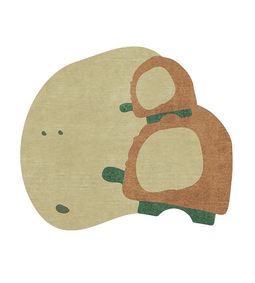 Diseño para Niños: Nuevas Alfombras poderosas de Circu diseño para niños Diseño para Niños: Nuevas Alfombras poderosas de Circu turtle shell rug circu magical furniture 1