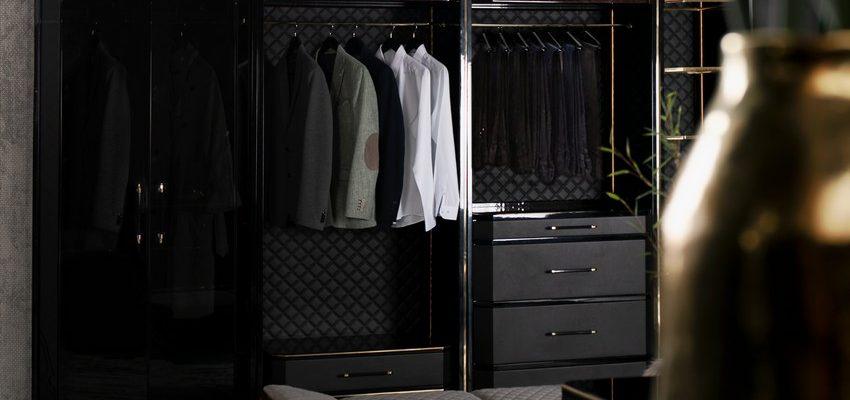 Diseño de Armarios: ideas lujuosas y modernas para un espacio elegante