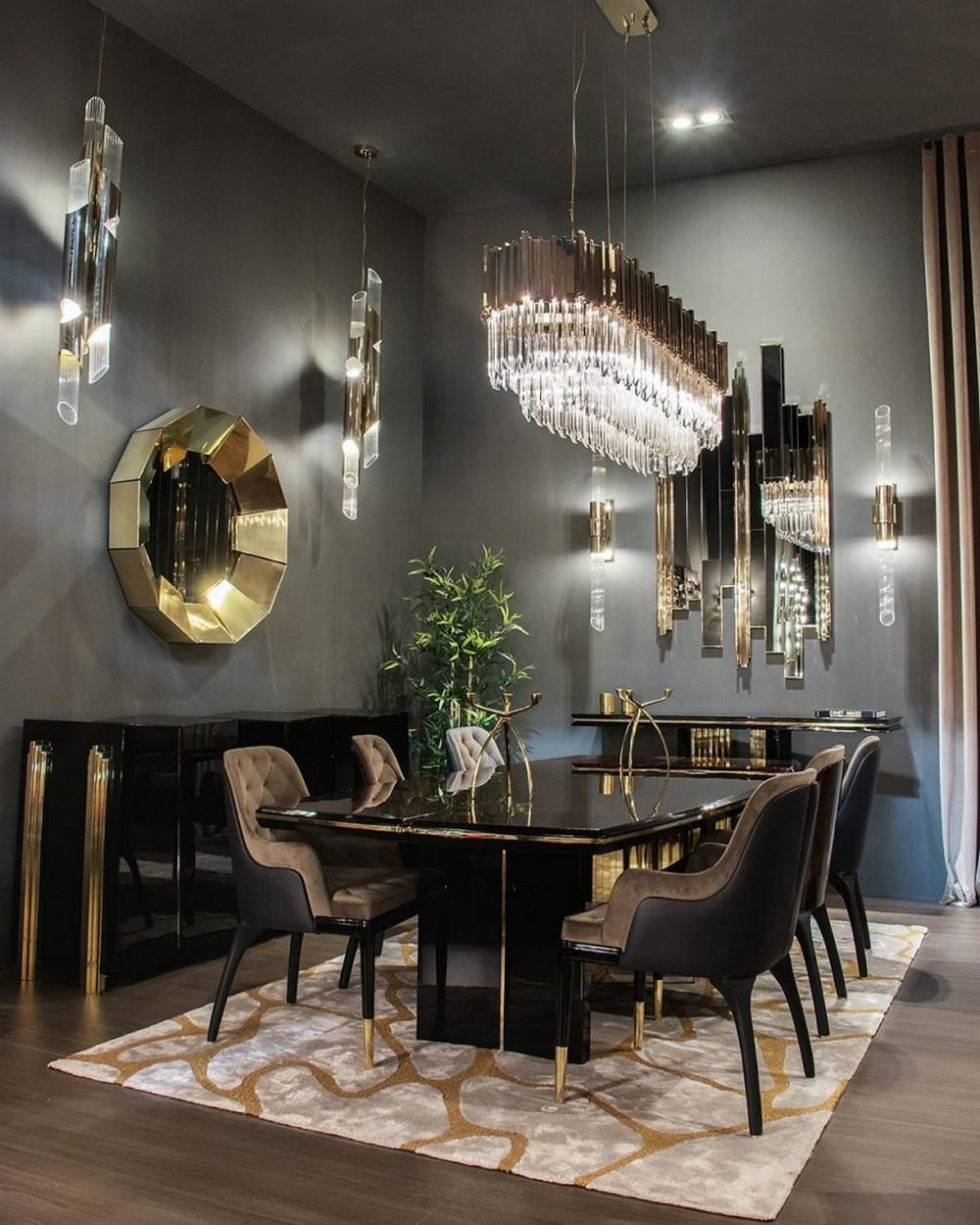 Comedores lujuosos: Inspiraciónes perfectas para un Diseño de interior moderno comedores lujuosos Comedores lujuosos: Inspiraciónes perfectas para un Diseño de interior moderno 1