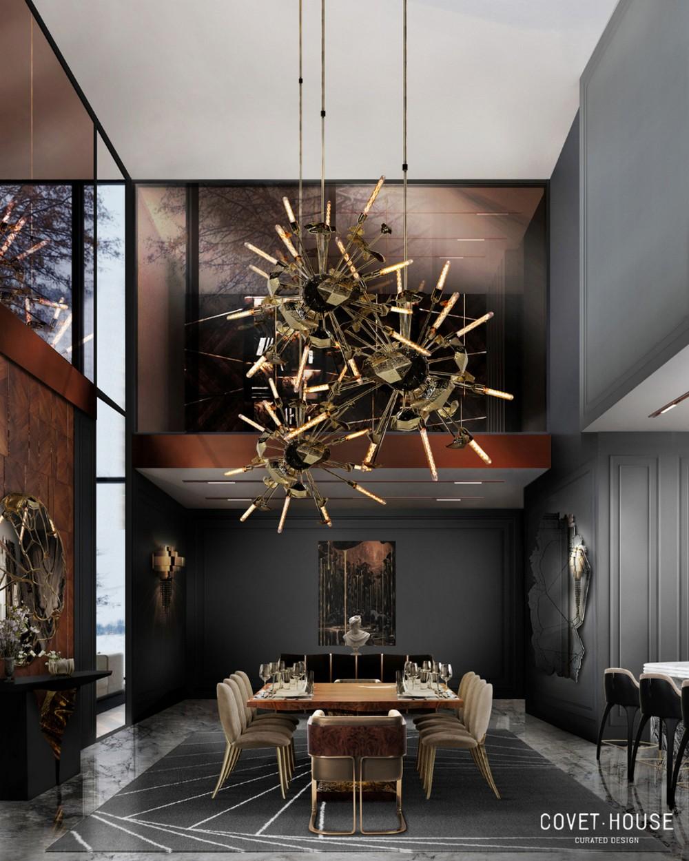 Comedores lujuosos: Inspiraciónes perfectas para un Diseño de interior moderno comedores lujuosos Comedores lujuosos: Inspiraciónes perfectas para un Diseño de interior moderno 10