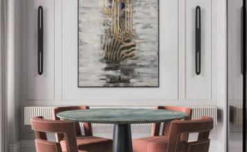Comedores lujuosos: Inspiraciónes perfectas para un Diseño de interior moderno comedores lujuosos Comedores lujuosos: Inspiraciónes perfectas para un Diseño de interior moderno 11 357x220