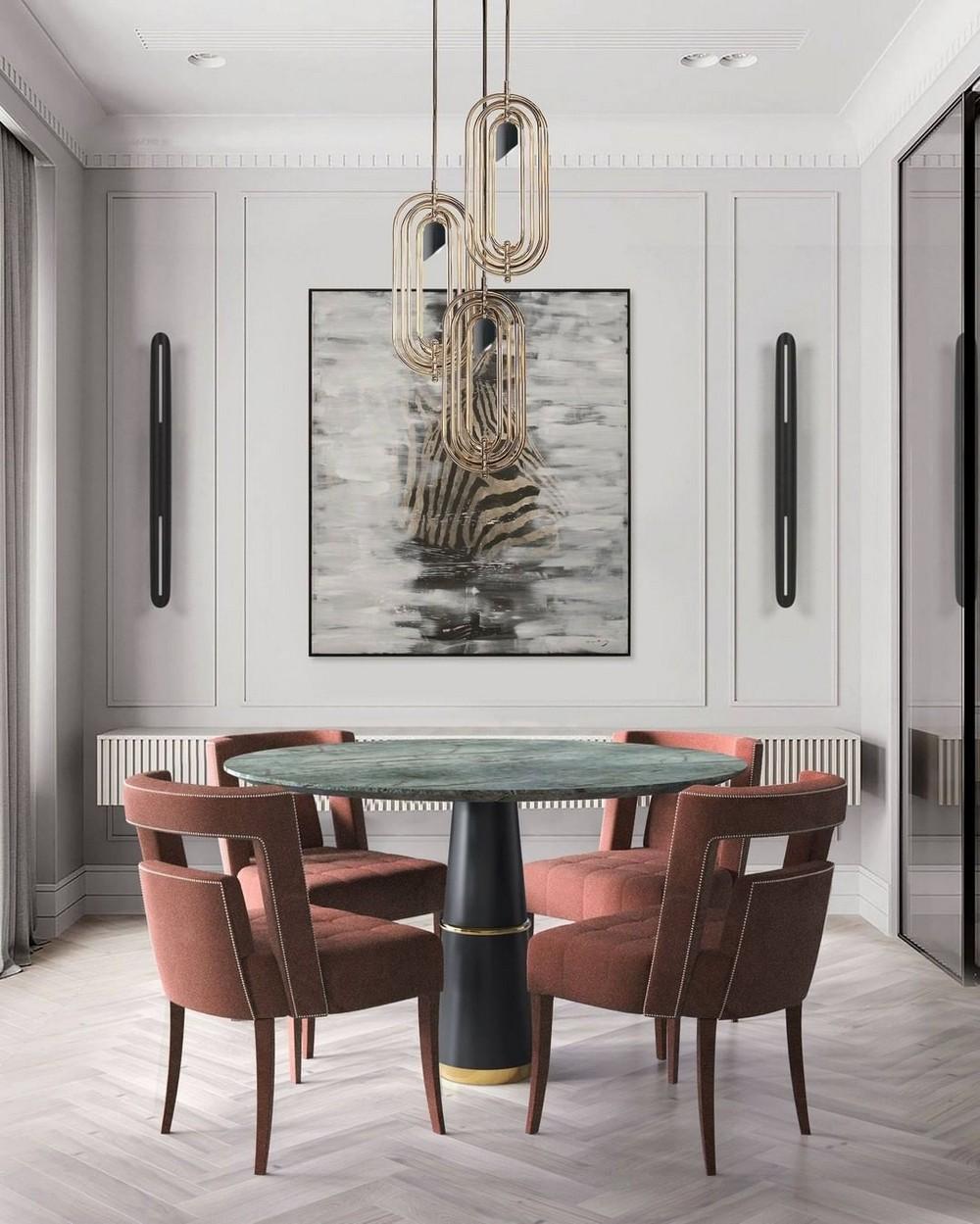 Comedores lujuosos: Inspiraciónes perfectas para un Diseño de interior moderno comedores lujuosos Comedores lujuosos: Inspiraciónes perfectas para un Diseño de interior moderno 11