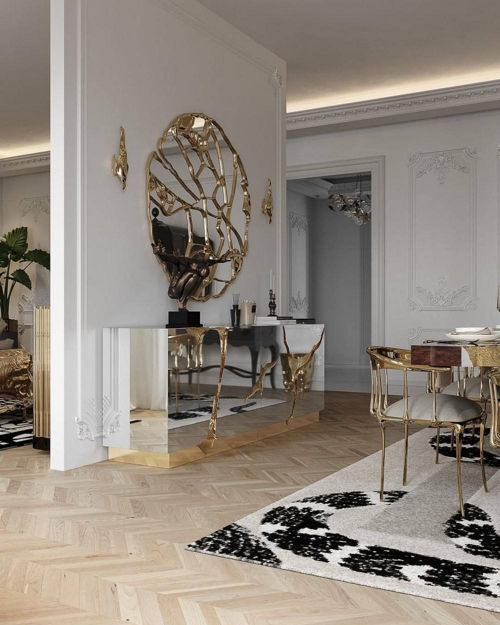 Comedores lujuosos: Inspiraciónes perfectas para un Diseño de interior moderno comedores lujuosos Comedores lujuosos: Inspiraciónes perfectas para un Diseño de interior moderno 3