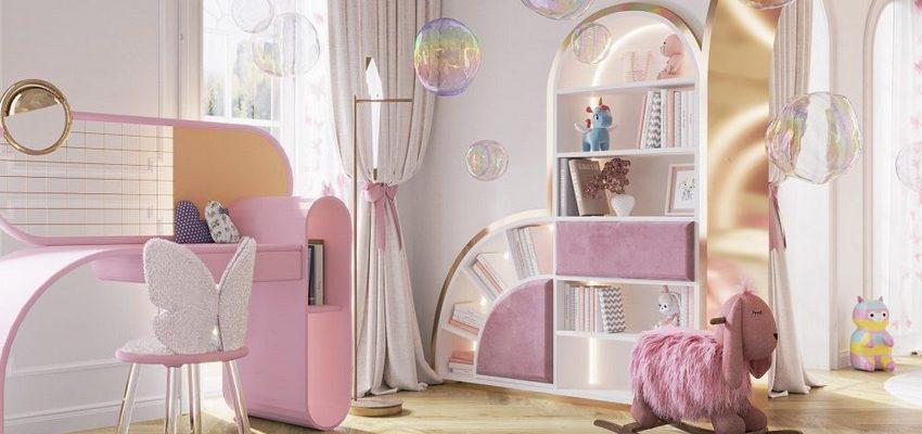 Diseño para Niños: Nueva Habitacion magica de Circu con We Wnętrzu