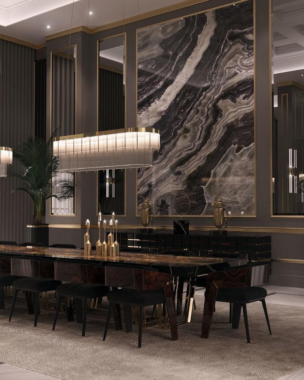 Comedores lujuosos: Inspiraciónes perfectas para un Diseño de interior moderno comedores lujuosos Comedores lujuosos: Inspiraciónes perfectas para un Diseño de interior moderno 4