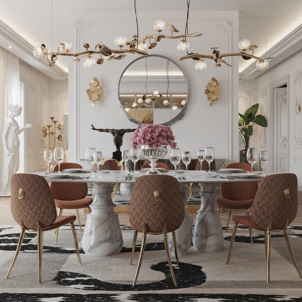 Comedores lujuosos: Inspiraciónes perfectas para un Diseño de interior moderno comedores lujuosos Comedores lujuosos: Inspiraciónes perfectas para un Diseño de interior moderno 5