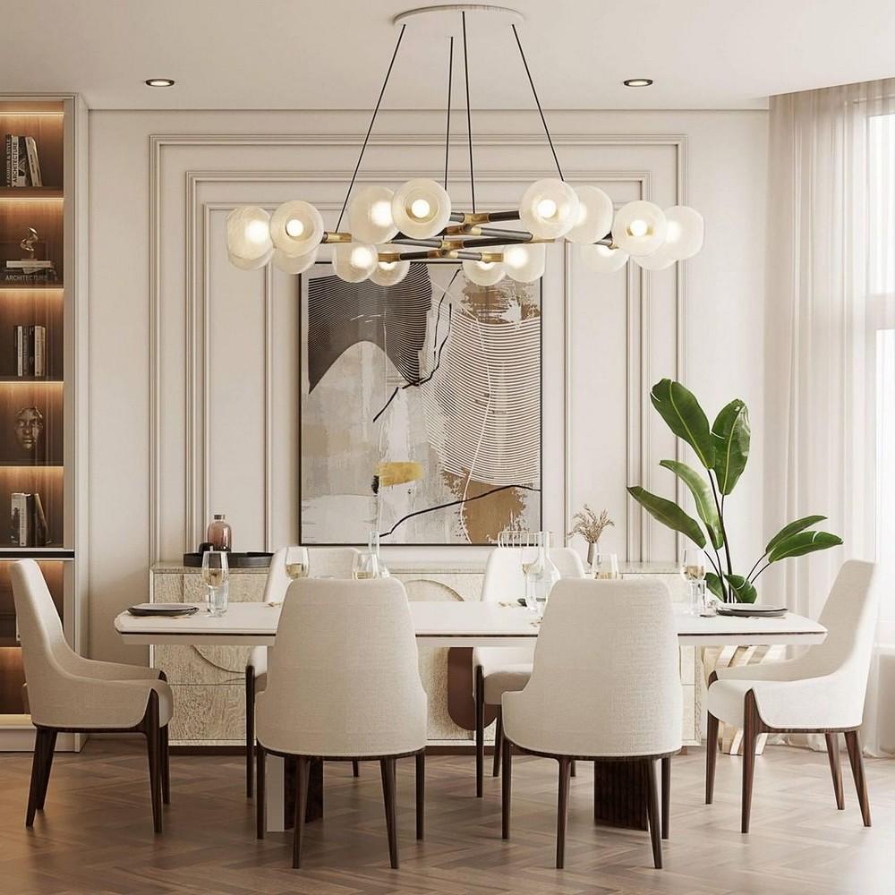 Comedores lujuosos: Inspiraciónes perfectas para un Diseño de interior moderno comedores lujuosos Comedores lujuosos: Inspiraciónes perfectas para un Diseño de interior moderno 6 1