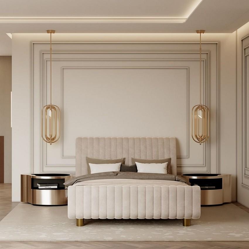 Diseño de Dormitorios: Inspiraciónes lujuosas y poderosas