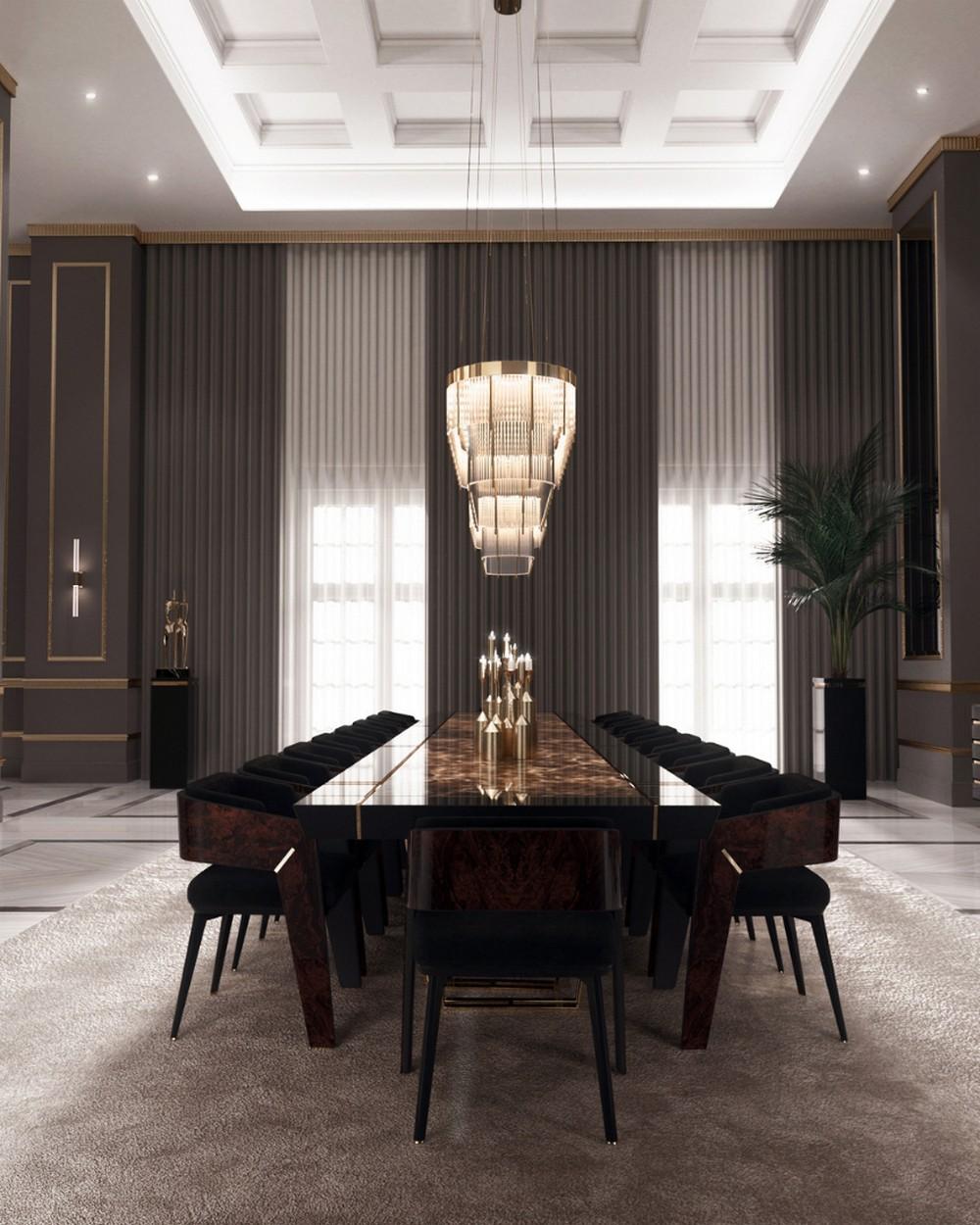 Comedores lujuosos: Inspiraciónes perfectas para un Diseño de interior moderno comedores lujuosos Comedores lujuosos: Inspiraciónes perfectas para un Diseño de interior moderno 7