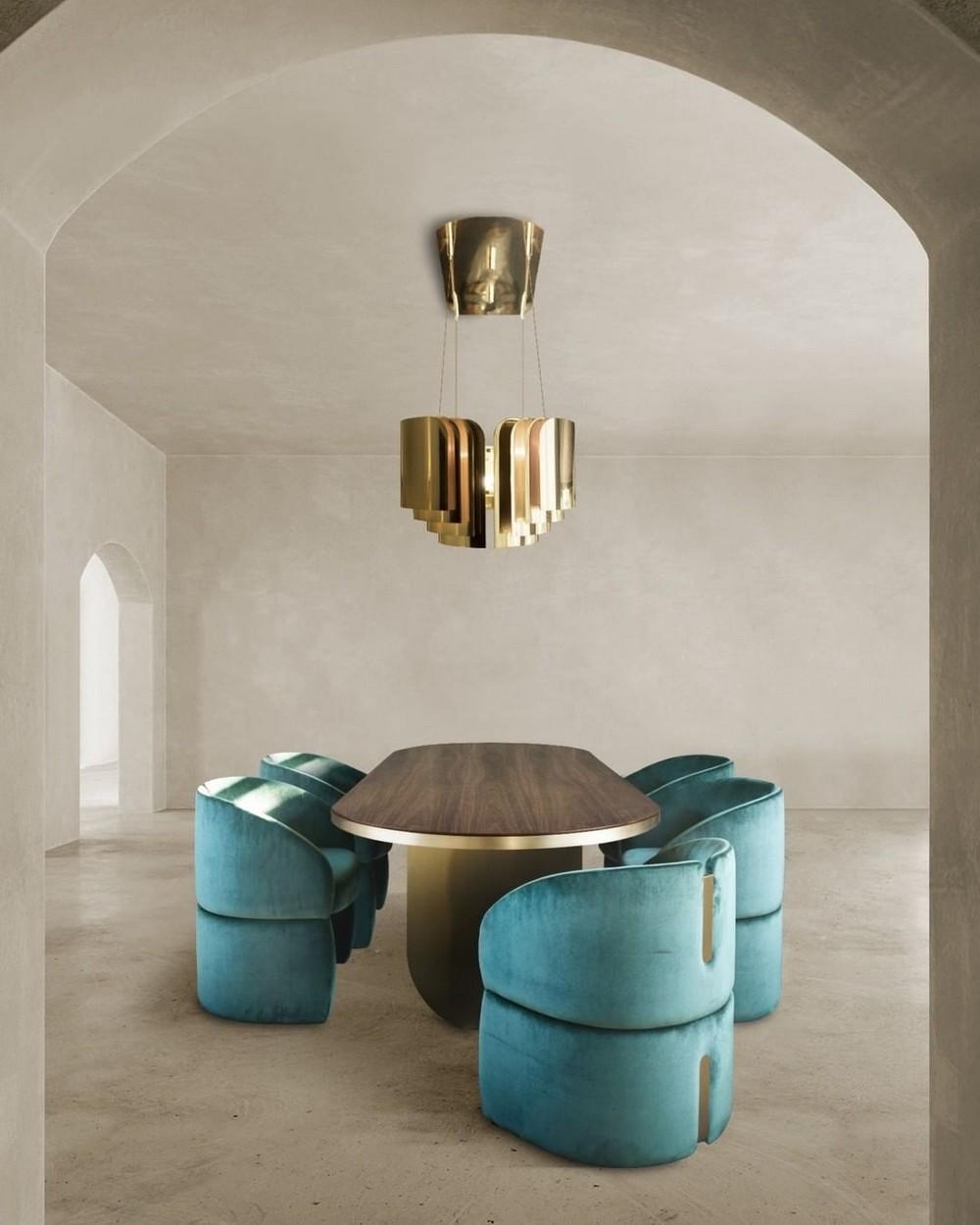 Comedores lujuosos: Inspiraciónes perfectas para un Diseño de interior moderno comedores lujuosos Comedores lujuosos: Inspiraciónes perfectas para un Diseño de interior moderno 8