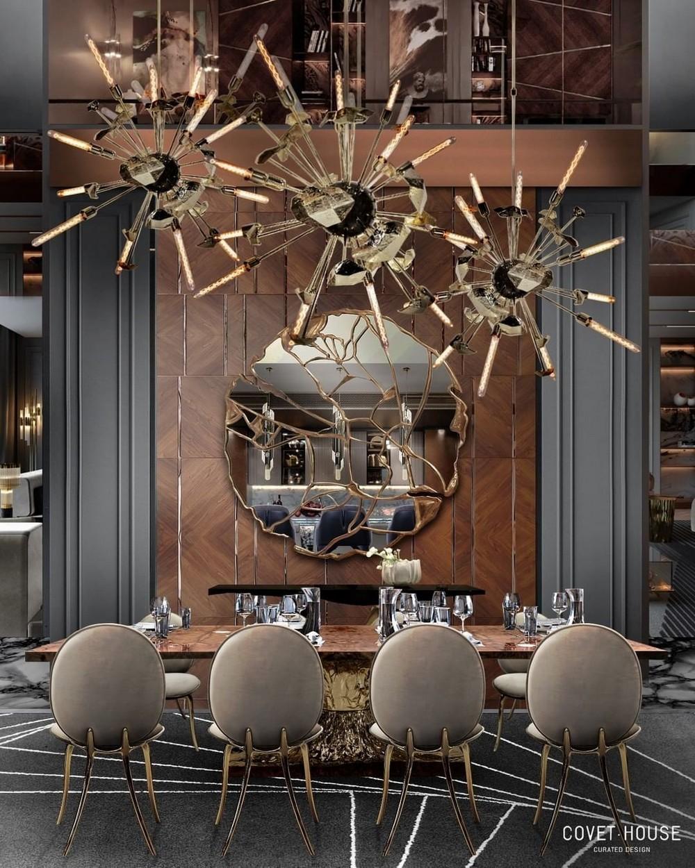 Comedores lujuosos: Inspiraciónes perfectas para un Diseño de interior moderno comedores lujuosos Comedores lujuosos: Inspiraciónes perfectas para un Diseño de interior moderno 9