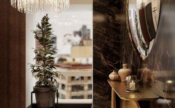 Ático Moderno en Nueva Yorque: Diseño de interiores de lujo Ático moderno Ático Moderno en Nueva Yorque: Diseño de interiores de lujo foyer 357x220