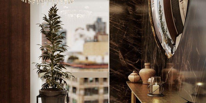 Ático Moderno en Nueva Yorque: Diseño de interiores de lujo