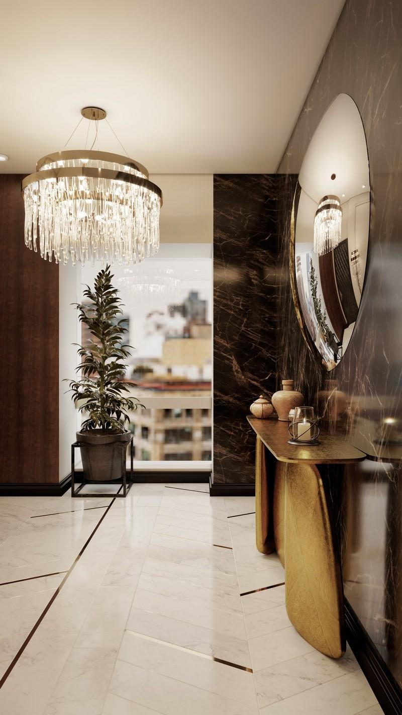 Ático Moderno en Nueva Yorque: Diseño de interiores de lujo Ático moderno Ático Moderno en Nueva Yorque: Diseño de interiores de lujo foyer