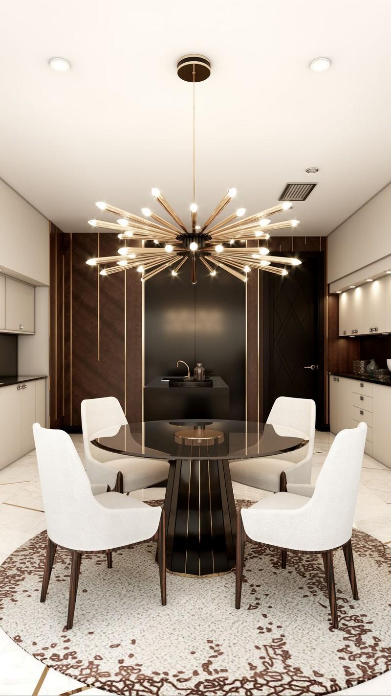 Ático Moderno en Nueva Yorque: Diseño de interiores de lujo Ático moderno Ático Moderno en Nueva Yorque: Diseño de interiores de lujo kitchen