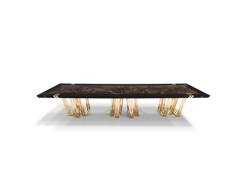 Ático Moderno en Nueva Yorque: Diseño de interiores de lujo Ático moderno Ático Moderno en Nueva Yorque: Diseño de interiores de lujo luxxu apotheosis xl dining table 01